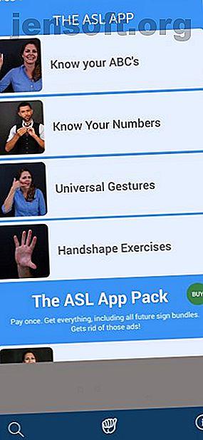 अपने iPhone या iPad का उपयोग करके साइन लैंग्वेज सीखना सीख रहे हैं?  यहां ASL सीखने के लिए कई iOS ऐप हैं।