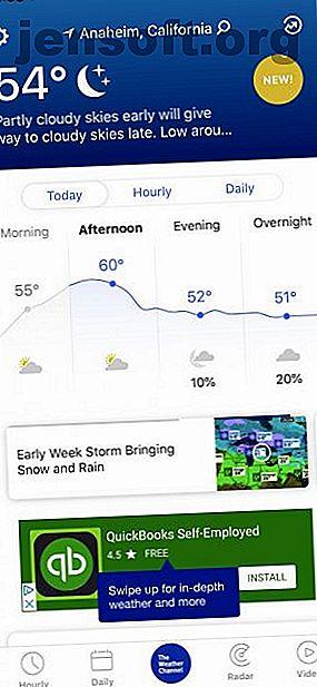 ये तापमान, वास्तविक महसूस, हवा की गति और बहुत कुछ की जाँच के लिए iPhone के लिए सबसे अच्छा मौसम ऐप हैं।