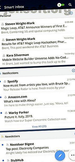 ¿Cuál es la mejor aplicación de correo electrónico para iPhone?  Aquí están los mejores clientes de correo electrónico de iOS para ayudarlo a administrar su bandeja de entrada.