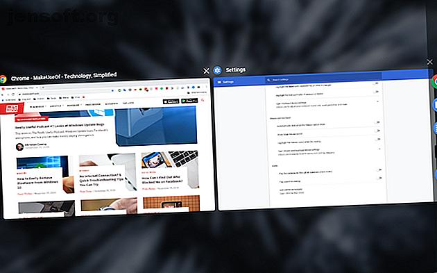 Letar du efter ett sätt att öka din produktivitet i Chrome OS?  Prova dessa Chromebook multitaskingtips.