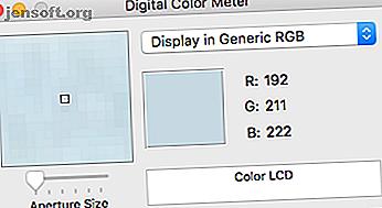Besoin de trouver la couleur parfaite sur votre Mac?  Essayez ces applications de sélection de couleurs macOS pour identifier, enregistrer, formater et copier des couleurs facilement.