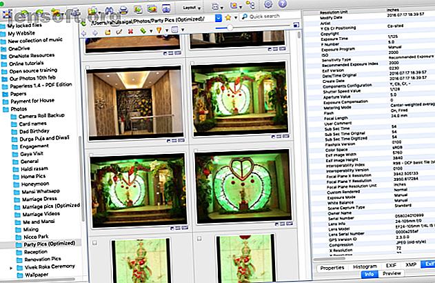 Vous recherchez une visionneuse d'images plus puissante pour votre Mac?  Jetez un coup d'œil à ces choix qui offrent beaucoup de flexibilité.