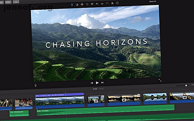 Besoin d'éditer une vidéo sur un budget?  Ces éditeurs vidéo Mac gratuits vous permettent d'effectuer gratuitement les tâches de montage vidéo essentielles.