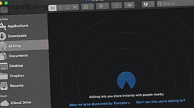 AirDrop d'Apple est un service pratique vous permettant de transférer des fichiers entre Mac et iOS.  Voici comment l'utiliser.