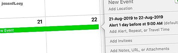Voulez-vous aller plus loin avec l'application Calendrier sur votre Mac?  Voici des conseils et astuces avancés pour maîtriser le calendrier Apple.