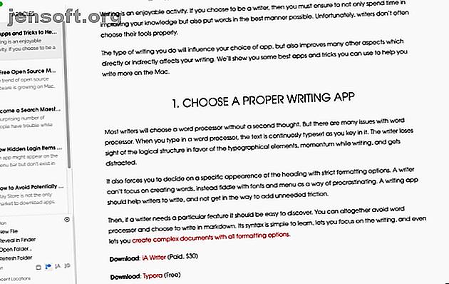 Si vous écrivez sur votre Mac, vous devriez connaître ces principales applications et astuces pour vous aider à écrire plus efficacement.