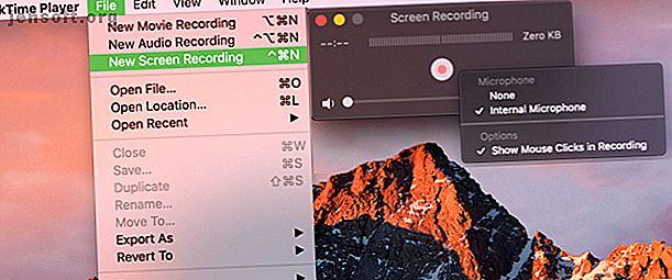Vous vous demandez comment enregistrer un enregistrement sur Mac?  Nous vous proposons plusieurs méthodes pour enregistrer une vidéo de ce qui est à l'écran.