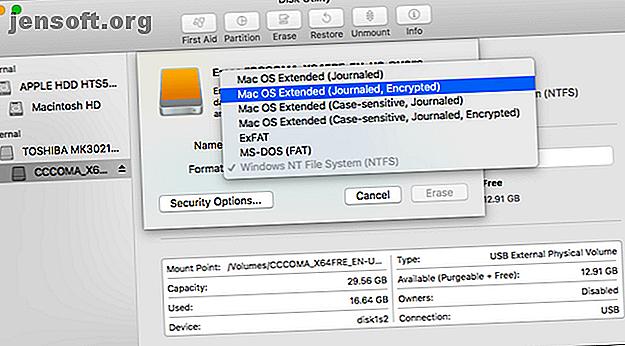 Votre disque dur externe apparaît-il en lecture seule sur votre Mac?  Voici comment réparer un lecteur Mac verrouillé et le faire fonctionner à nouveau.