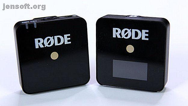 Το RØDE Wireless GO είναι συμπαγές, ελαφρύ και απλό και εύκολο στη χρήση.  Συνδυάστε το με ένα μικροσκοπικό μικρόφωνο για υψηλής ποιότητας ήχο οπουδήποτε.