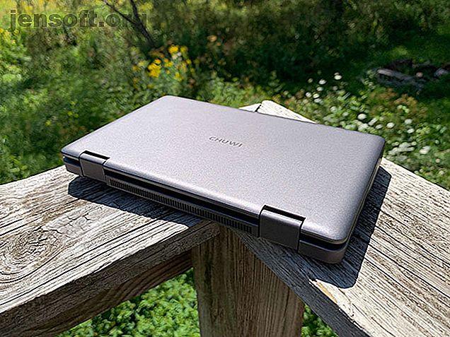 """Anuncio Nuestro veredicto del Chuwi MiniBook 8: El Chuwi MiniBook 8 """"hace más que revivir el netbook: toma ese factor de forma y contiene una computadora mucho más útil en su interior.810 Los netbooks no duraron tanto la primera vez. , no se suponía que los dispositivos portátiles fueran potentes, pero eran increíblemente asequibles."""