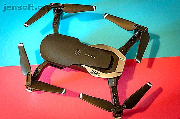 El dron plegable E511S de Eachine es una alternativa de bajo presupuesto a la gran cantidad de drones pequeños pero caros de DJI.  El E511S está claramente diseñado después del Mavic Air, pero ¿es bueno?