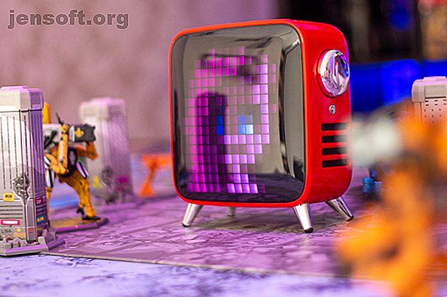 El Tivoo Max es una magnífica pantalla de píxeles, un agradable altavoz de graves, con una amplia selección de características y una enorme biblioteca de arte de píxeles, todo envuelto en un elegante paquete de TV retro.  Se verá fantástico sin importar dónde lo coloque, y agregará un poco de magia a su habitación.