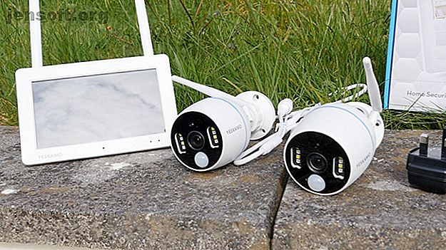 Οι μηδενικές ρυθμίσεις, οι προβολείς στις κάμερες και η ενσωματωμένη οθόνη αφής καθιστούν αυτό το μικρό, φιλικό προς το προϋπολογισμό σύστημα CCTV για όσους αναζητούν απλότητα.  Απογοητεύεται από μια φοβερή εφαρμογή και το Wi-Fi με χαμηλή ισχύ.