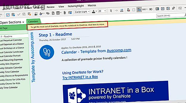 Un modèle Microsoft OneNote peut vous aider à organiser votre vie.  Saisissez ces modèles OneNote prêts à l'emploi à partir de ces sites Web.