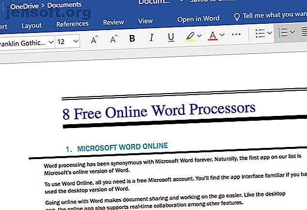 Les traitements de texte en ligne sont de toutes formes et de toutes tailles.  Utilisez ces sélections pour choisir l'outil d'écriture qui vous convient.