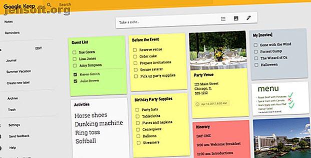 Confus entre Google Keep et Evernote?  Nous avons comparé les deux pour vous aider à choisir celui qui vous convient le mieux.