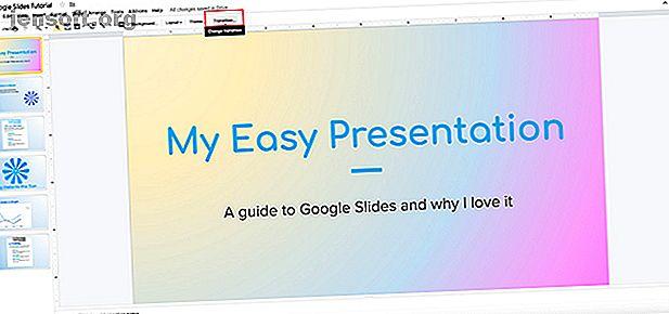Les transitions peuvent rendre vos présentations plus vivantes.  Voici comment créer une transition pour votre présentation Google Slides.