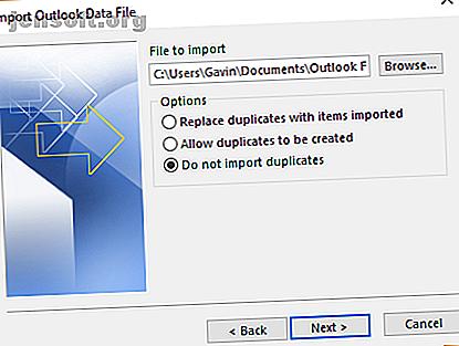 Un fichier Outlook PST contient toutes les données de votre boîte de réception.  Si vous avez plusieurs fichiers Outlook PST, comment pouvez-vous les fusionner tous?