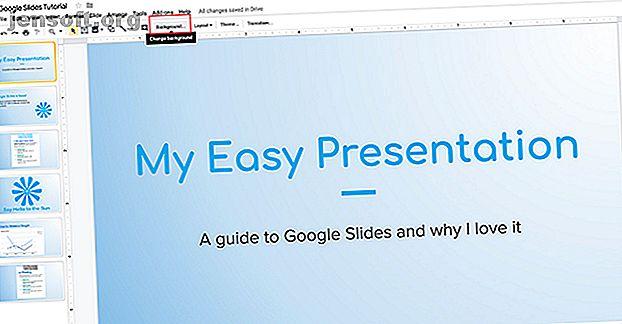 En anpassad gradient kan ge din Google Slides-presentation ett unikt utseende.  Så här kan du enkelt skapa en färgglad gradient.