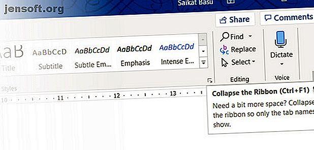 Microsoft Word skulle inte vara det verktyg det är utan dess produktiva funktioner.  Här är flera funktioner som kan hjälpa dig varje dag.
