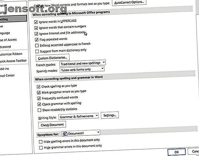 Der er mange Microsoft Word-standardindstillinger, du kan tilpasse.  Her er et par vigtige, der kan gøre dig mere produktiv.