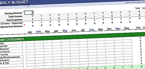 Mantenga siempre un registro de su salud financiera.  Estas plantillas gratuitas de hojas de cálculo de Excel son las herramientas que necesita para administrar su dinero.