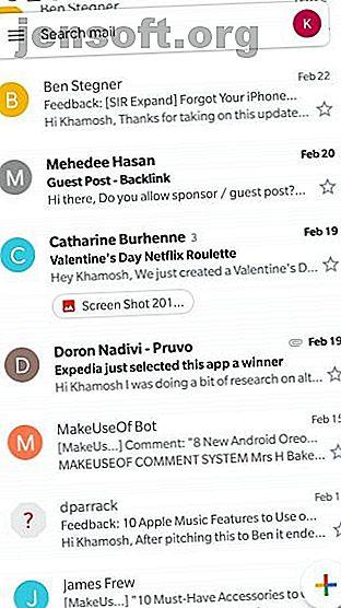 Om den nya Gmail-designen på iPhone eller Android bländar dig, gå igenom dessa funktioner för att förbli produktiv med dina e-postmeddelanden.