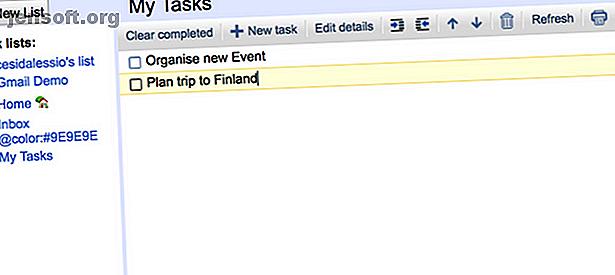Google Tasks tiene una nueva apariencia fresca.  Es igual de fácil organizar tus tareas pendientes en tu bandeja de entrada de Gmail.