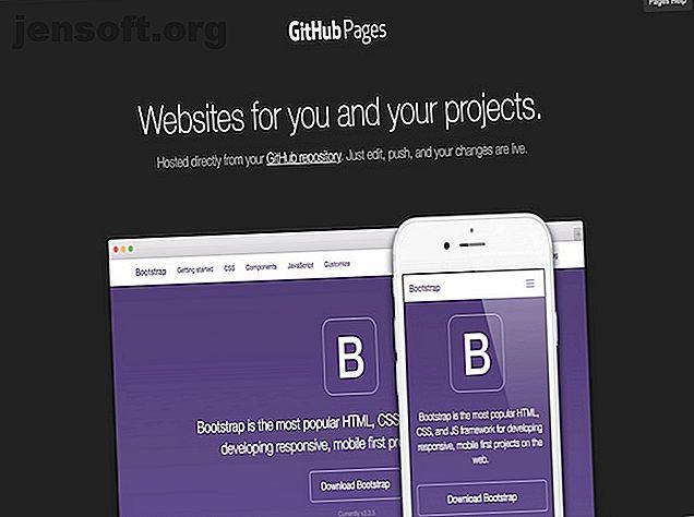Si vous avez un site Web simple, vous n'avez pas besoin de payer pour l'hébergement Web.  Vous pouvez utiliser GitHub Pages gratuitement!