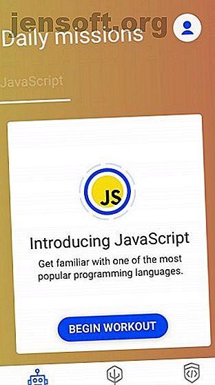 Vous voulez apprendre à coder mais vous ne pouvez pas vous permettre un cours?  Les applications de codage sont la réponse intelligente, vous permettant d'apprendre à coder où que vous soyez.