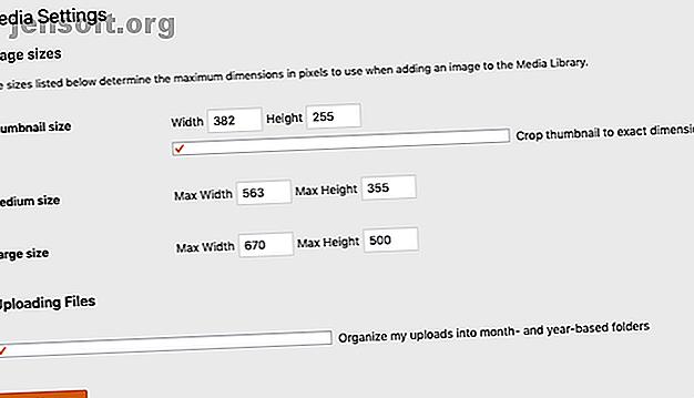 Här är allt du behöver veta om bildstorlekar i WordPress och hantera presenterade bilder.