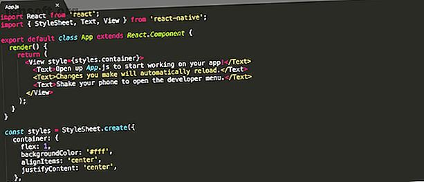 ¿Quieres aprender a escribir aplicaciones de Android?  React Native es una de las formas más simples y se puede configurar con Node.js en su computadora.