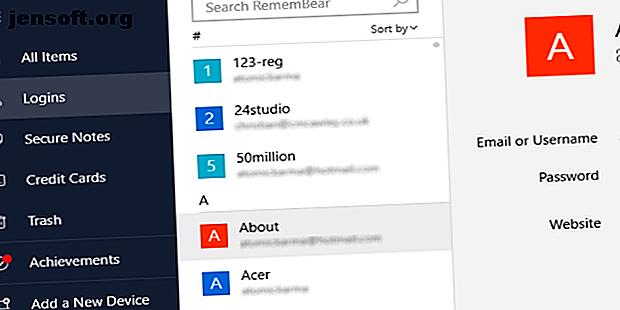 RememBear est un gestionnaire de mot de passe facile à utiliser mais puissant que vous devriez vérifier.  Voici un aperçu de ce qu'il offre.