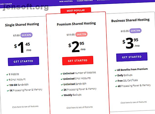 ¿Busca un proveedor de alojamiento web asequible que sea rápido, fácil de usar y que tenga muchas opciones?  Hostinger es para ti.