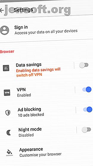 Préoccupé par les problèmes de sécurité autour des VPN gratuits?  Il serait peut-être temps d'essayer la nouvelle fonctionnalité VPN gratuite d'Opéra sur Android.