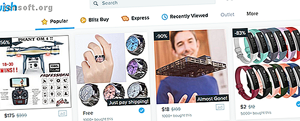 Wish est un service d'achat en ligne de plus en plus populaire.  Mais est-il prudent d'acheter des produits (potentiellement inférieurs) en provenance de Chine?