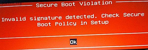 UEFI peut interférer avec l'installation d'un deuxième système d'exploitation.  Voici comment désactiver UEFI Secure Boot et double-démarrer tout système d'exploitation de votre choix.