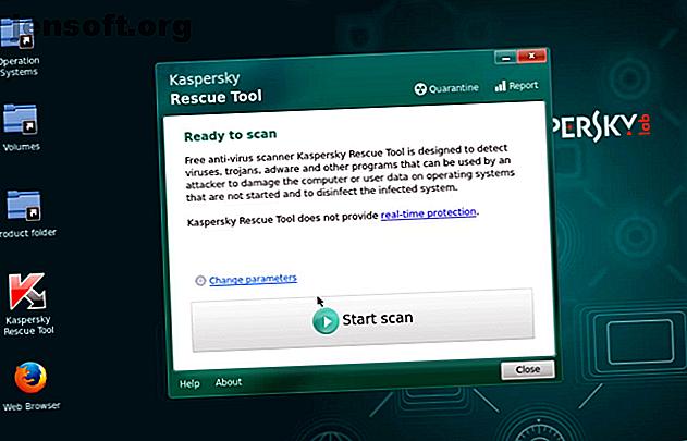 Un ordinateur endommagé par un logiciel malveillant vous empêche de démarrer votre ordinateur en toute sécurité?  Nettoyez votre PC avec l'un de ces disques d'amorçage antivirus.