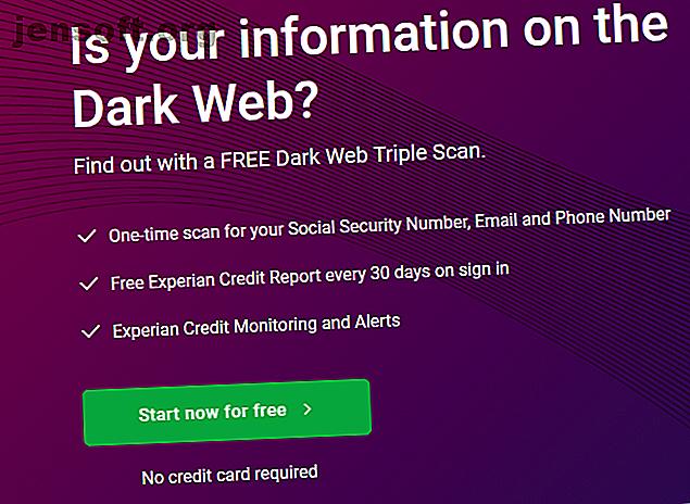 Avez-vous besoin de l'analyse du Web en noir Experian et que fait-il vraiment?  Nous examinons les scans Web sombres et nous nous demandons s'ils en valent la peine.