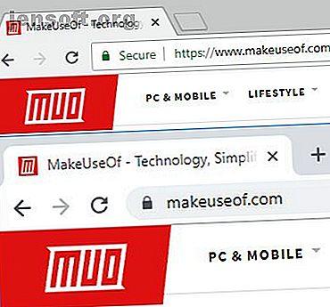 Øker det å fjerne tegnene fra en nettadresse din sjanse for å lande på feil (potensielt farlig) webside?