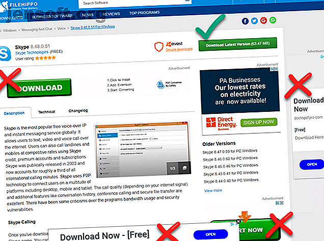 Les fausses publicités déguisées en liens de téléchargement sont diffusées sur le Web.  Voici quelques conseils essentiels pour éviter les publicités conçues pour vous tromper.