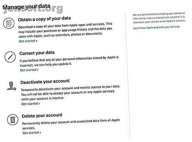 Apple facilita averiguar qué información almacena sobre sus actividades.  Aquí le mostramos cómo descargar datos personales de Apple.