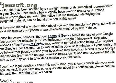 Vous avez reçu une notification de violation des droits d'auteur de votre fournisseur d'accès, mais vous ne savez pas pourquoi?  Voici ce que vous devez faire ensuite.