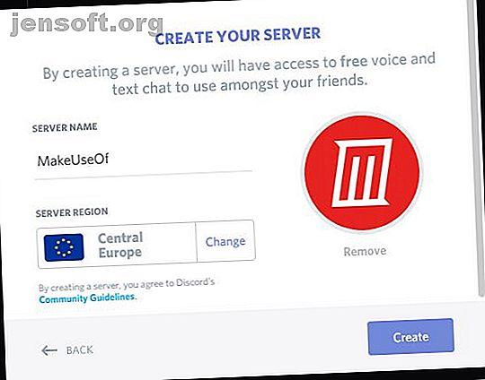 Configurer votre propre serveur Discord est facile!  Voici une procédure pas à pas de l'ensemble du processus.