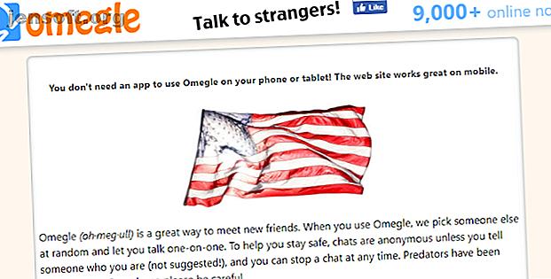 Omegle är en onlinechatt som låter dig prata med främlingar.  Vi visar dig hur du använder Omegle och håller dig säker.