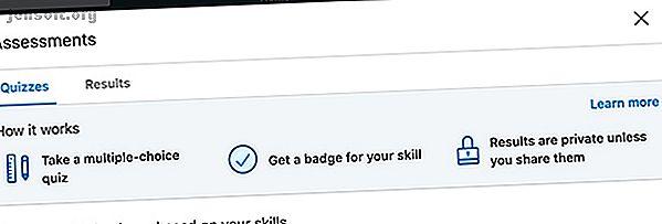 Les évaluations de compétences LinkedIn sont un moyen pour les chercheurs d'emploi de prouver leurs compétences.  Voici comment utiliser les évaluations de compétences LinkedIn.