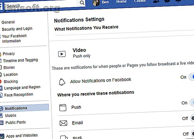 Vous vous demandez comment désactiver les notifications Facebook Live?  Voici comment désactiver ces alertes ennuyeuses sur toutes les plateformes.