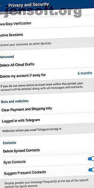 Aquí hay guías paso a paso que le muestran cómo desactivar su cuenta de Telegram y cómo eliminar su cuenta de Telegram.