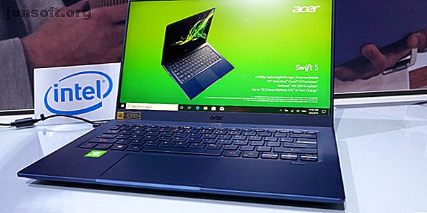 El Swift 5 actualizado de Acer presenta el nuevo procesador Intel de 10a generación, una GPU discreta, carga rápida y 50% más de duración de la batería.