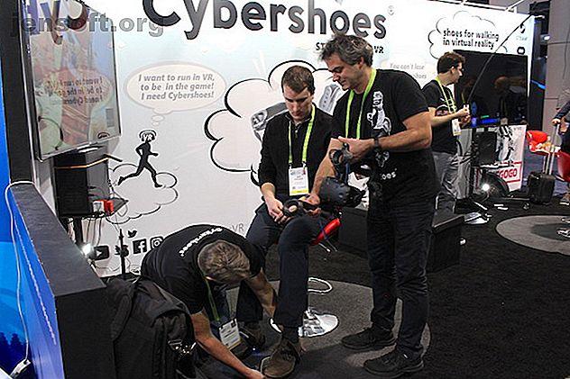 Si vous souhaitez mettre à niveau votre jeu PC VR, Cybershoes vous permet de contrôler vos mouvements avec vos pieds.  Nous sommes allés au CES.